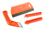 Linic Tungsten Carbide Heavy Duty Tile Grout Rake, Grout Rake, Scriber & Adhesive Spreader. S7519